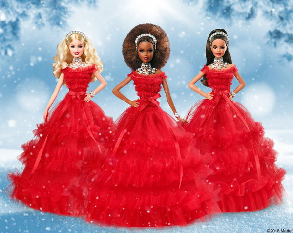 2018 Barbie Holiday