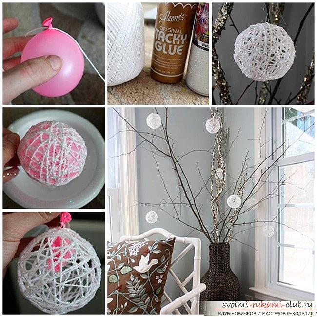 Как украсить комнату на новый год своими