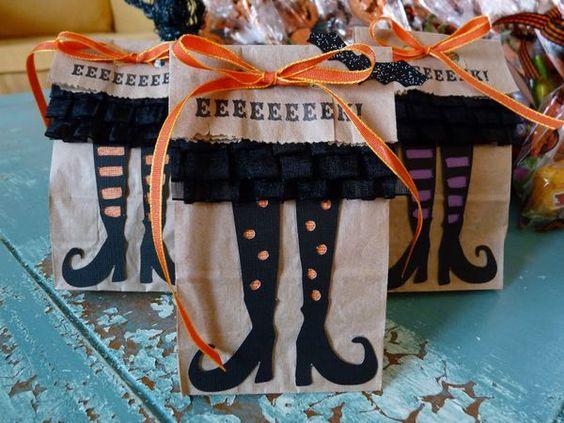 Упаковка для подарков на Хэллоуин