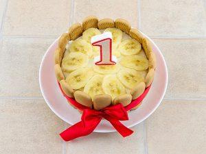 Детский торт на один годик