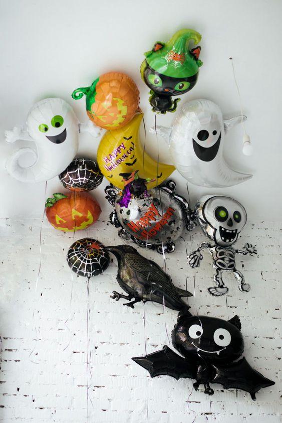 Фольгированные шары на Хэллоуин