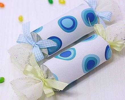 Упаковка детских сладких подарков своими руками