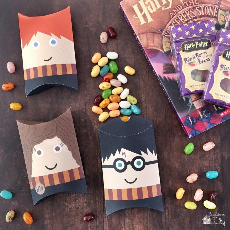 Коробочки в виде Гарри Поттера
