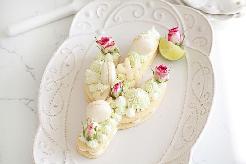 Торт в виде кактуса своими руками