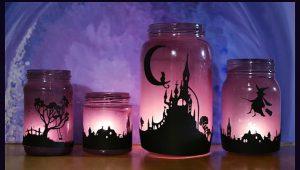 Подсвечники для Хэллоуина