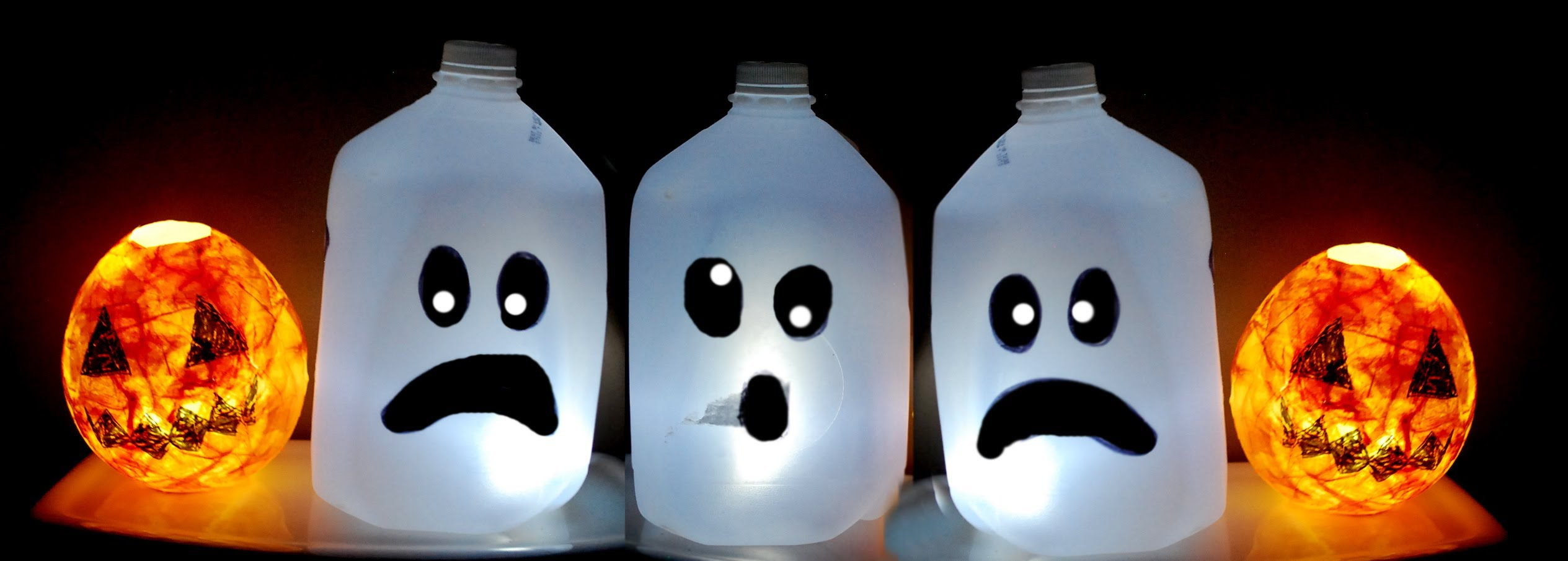 Подсвечники из пластиковых бутылок