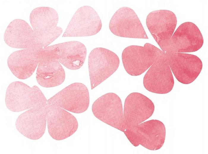 Трафареты роз для распечатки