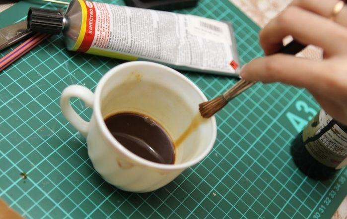 Кофе для тонировки бумаги