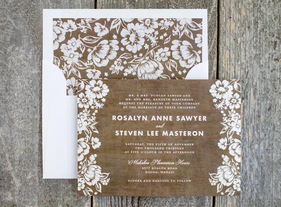 Конверт для свадебного приглашения