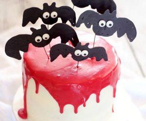 Украшение торта на Хэллоуин