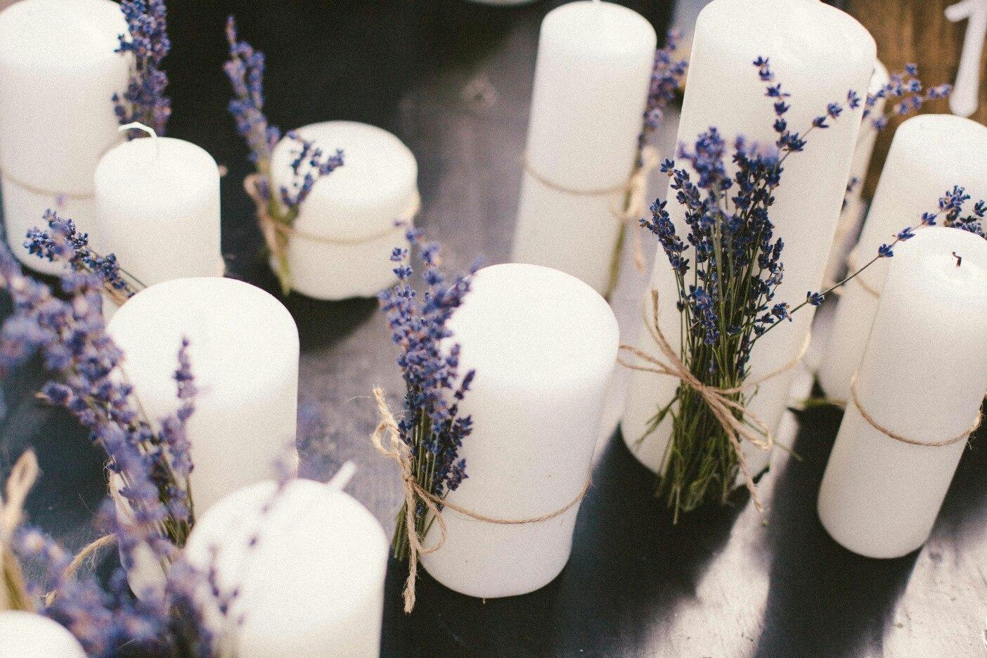 Свадебный декор в стиле Прованс