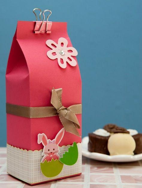 Упаковка пасхального подарка своими руками