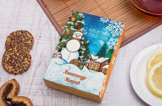 Подарочный чайный набор на Новый год