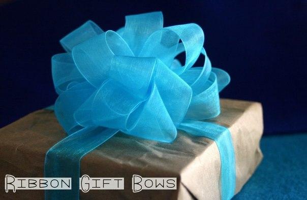 Как завязать бант для подарка?