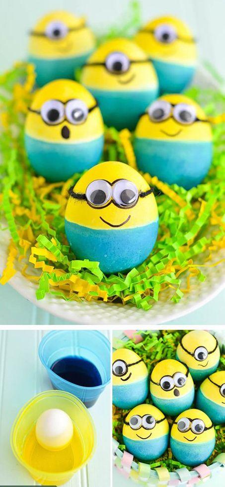 Пасхальные яйца — миньоны