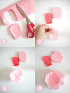 Как сделать цвет из гофры