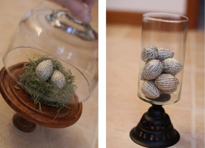 Пасхальные композиции с яйцами