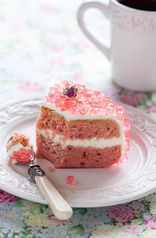 Оригинальный торт в мультиварке, украшенный желе