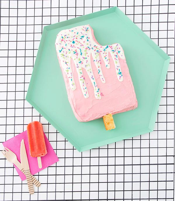 Торт в виде эскимо