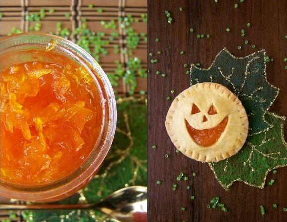 Тыквенный джем и печенье к Хэллоуину