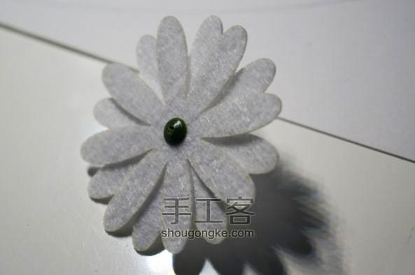 Как сделать горшочек с цветами из фетра