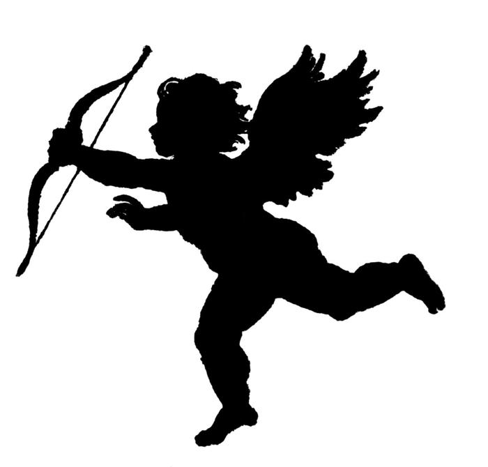 Трафарет ангела