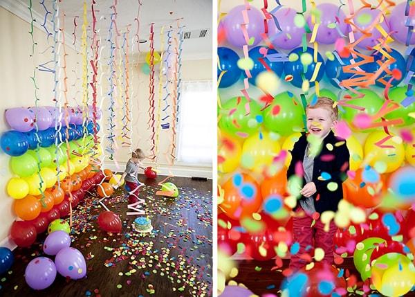 Как украсить детский праздник шарами своими руками
