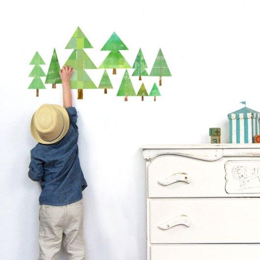 Елочка на стену в детскую