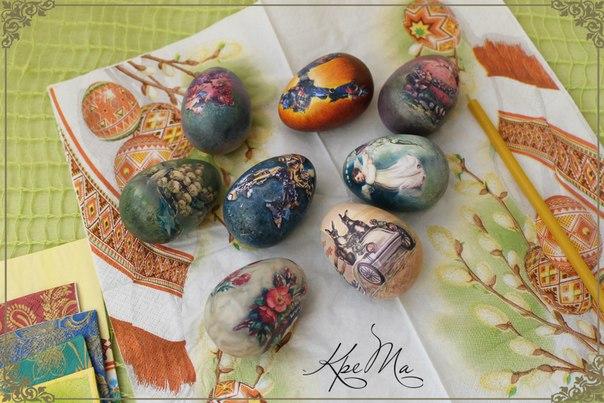 Декоративные яйца своими руками