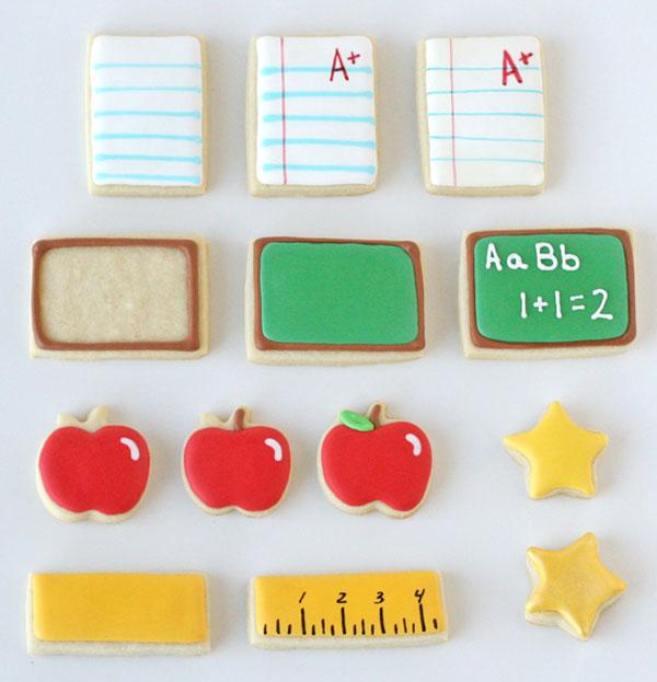 Школьное печенье в качестве подарка учителю