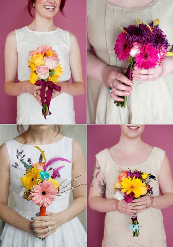 Букет из живых цветов для учителя