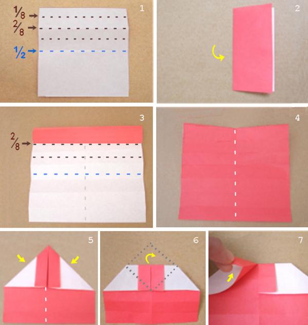 Как сделать кольцо из бумаги