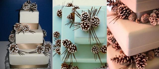 Шоколадные шишки для украшения торта своими руками