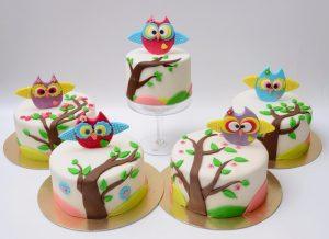 Торт в виде совы