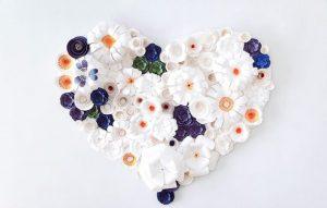 Как украсить свадьбу бумажными цветами