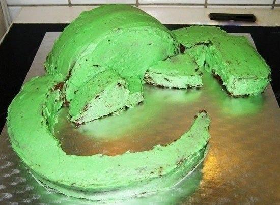 Как сделать торт в виде дракона