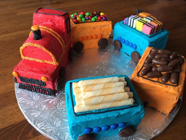 Детский торт Поезд
