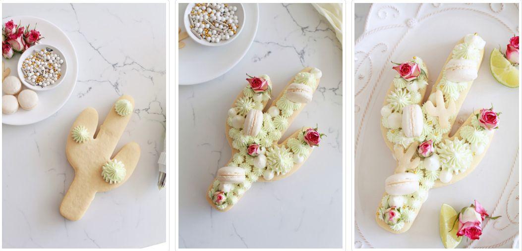 Красивое украшение торта