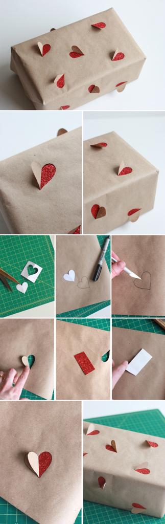 Как упаковать подарок для любимого