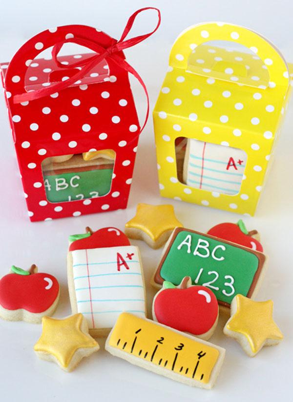 Сладкий подарок учителю. Школьное печенье своими руками