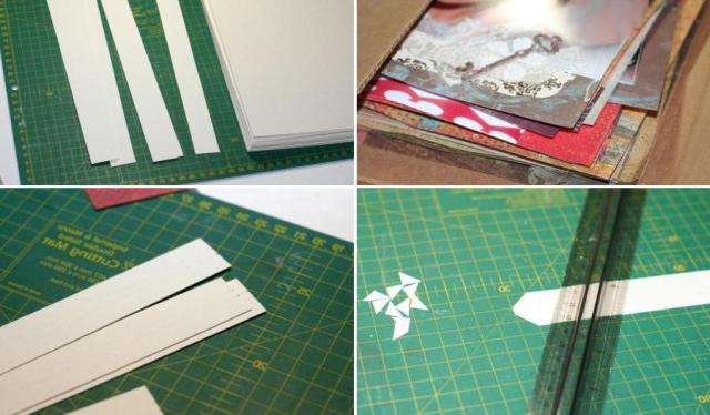 Как сделать страницы для фотоальбома