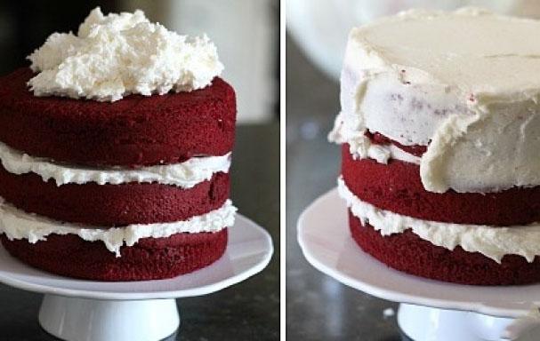 Украшение торта кремом на Хэллоуин