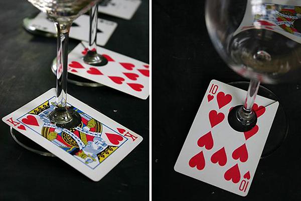 Декор вечеринки в стиле казино