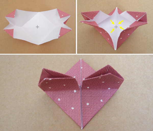 Оригами сердечко своими руками