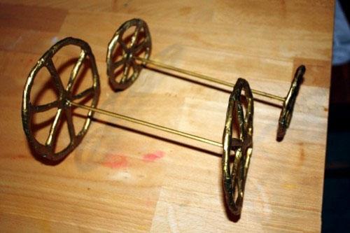 Как сделать колёса для кареты