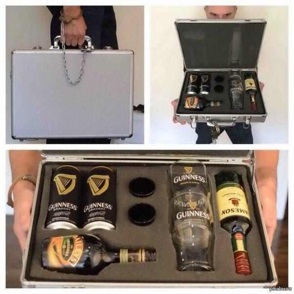 Алкогольные подарки для мужчин