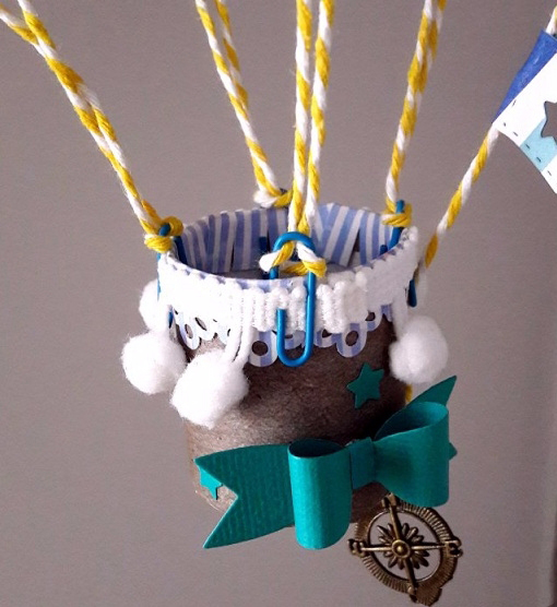 Корзина для декоративного воздушного шара