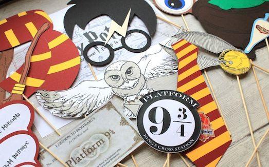 Детский день рождения в стиле Гарри Поттера