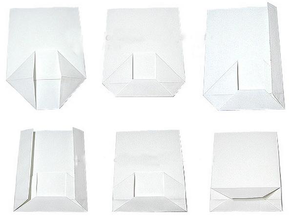 Мастер-класс, как сложить бумажный пакет