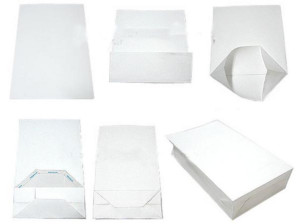 Как сложить пакет из бумаги